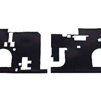 "076-1263 Apple Keyboard Insulators ( L/R) For Macbook Pro 15"" Late 2007 A1226"