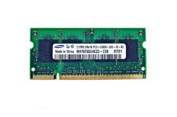 661-3866 Memory 512MB DDR2 for MacBook Pro 15 inch Early 2016 A1150 MA090LL, MA463LL/A, MA601LL, MA464LL/A