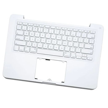 661-5590 Top Case (W/ Keyboard) for MacBook 13-inch Mid 2010 A1342 MC516LL/A (806-0468, 605-2396, 605-2432, 818-1098)