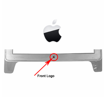 922-5522 Front Logo (Silver) for Cinema Display 23-inch Early 2002 M8537ZM/A