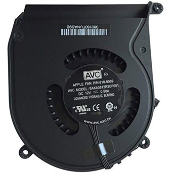 922-9953 Fan (Mid) for Mac Mini Late 2012-Late 2014 A1347 MD387LL/A, MD388LL/A MGEM2LL/A, MGEN2LL/A, MGEQ2LL/A