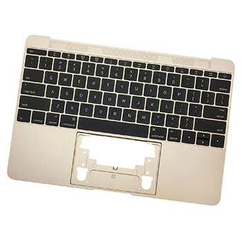 661-02280 Top Case with Keyboard (Gold) for MacBook 12-inch Early 2015 A1534 MK4M2LL/A, MK4N2LL/A