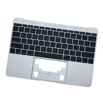 661-04882 Top Case w/ Keyboard (Space Gray) for MacBook 12-inch Early 2016 A1534 MLH72LL/A, MLH82LL/A