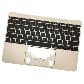 661-04883 Top Case w/ Keyboard (Gold) for MacBook 12-inch Early 2016 A1534 MLHE2LL/A, MLHF2LL/A