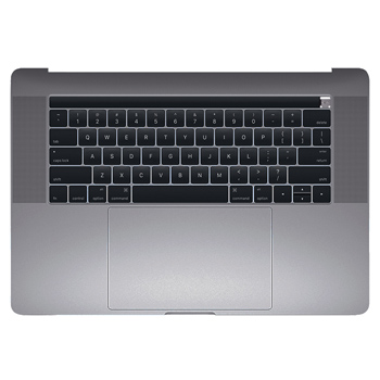 661-06377 Top Case (Space Gray) for MacBook Pro 15-inch Late 2016 A1707 MLH32LL/A, MLH42LL/A