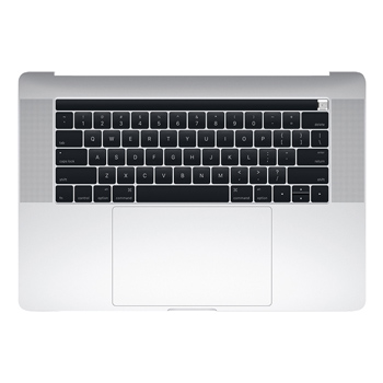 661-06378 Top Case (Silver) for MacBook Pro 15-inch Late 2016 A1707 MLW72LL/A, MLW82LL/A