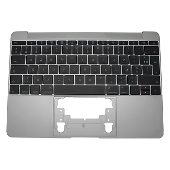 661-06793 Top Case (Space Gray) for MacBook 12-inch Mid 2017 A1534 MNYF2LL/A, MNYG2LL/A
