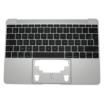 661-06794 Top Case (Silver) for MacBook 12-inch Mid 2017 A1534 MNYH2LL/A, MNYJ2LL/A