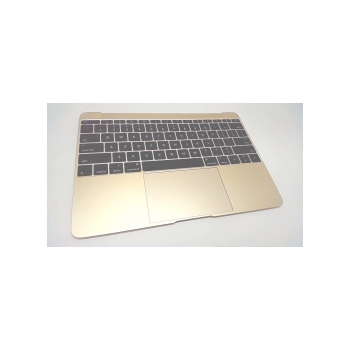 661-06795 Top Case (Gold) for MacBook 12-inch Mid 2017 A1534 MNYK2LL, MNYL2LL
