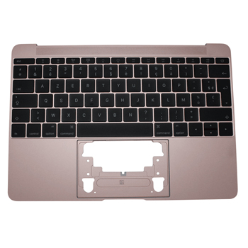 661-06796 Top Case (Rose Gold) for MacBook 12-inch Mid 2017 A1534 MNYM2LL/A, MNYN2LL/A