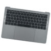 661-07950 Top Case (Space Gray) for MacBook Pro 13-inch Mid 2017 A1706 MPXV2LL, MPXW2LL