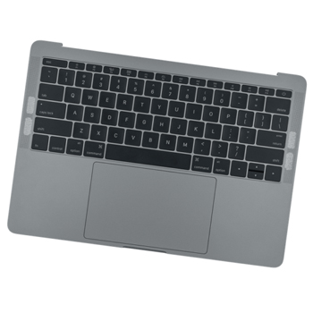 661-07946 Top Case (Space Gray) for MacBook Pro 13-inch Mid 2017 A1708 MPXQ2LL, MPXT2LL