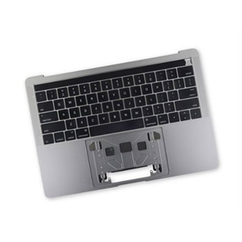 661-07954 Top Case (Space Gray) for MacBook Pro 15-inch Mid 2017 A1707 MPTR2LL/A, MPTT2LL/A, MPTV2LL/A