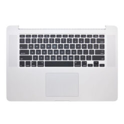 661-8311 Top Case for MacBook Pro 15-inch Late 2013-Mid 2014 A1398 ME293LL/A, ME294LL/A, ME874LL/A, MGXA2LL/A, MGXC2LL/A, MGXG2LL/A (020-8152)