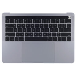 661-10040 Top Case w/ Battery (Space Gray) for MacBook Pro 13-inch Mid 2018 A1989 MR9Q2LL/A, BTO/CTO