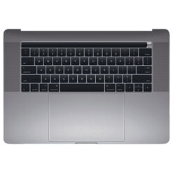 661-10345 Top Case w/ Battery (Space Gray) for MacBook 15-inch Mid 2018 A1990 MR932LL/A, MR942LL/A, BTO/CTO