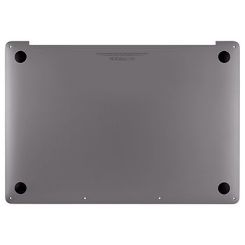 923-02509 Bottom Case (Space Gray) for MacBook 15-inch Mid 2018 A1990 MR932LL/A, MR942LL/A, BTO/CTO